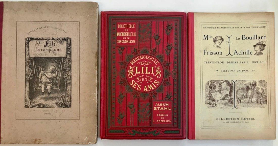 Mademoiselle Lili Illustrated Books P.J.Stahl & Frolich