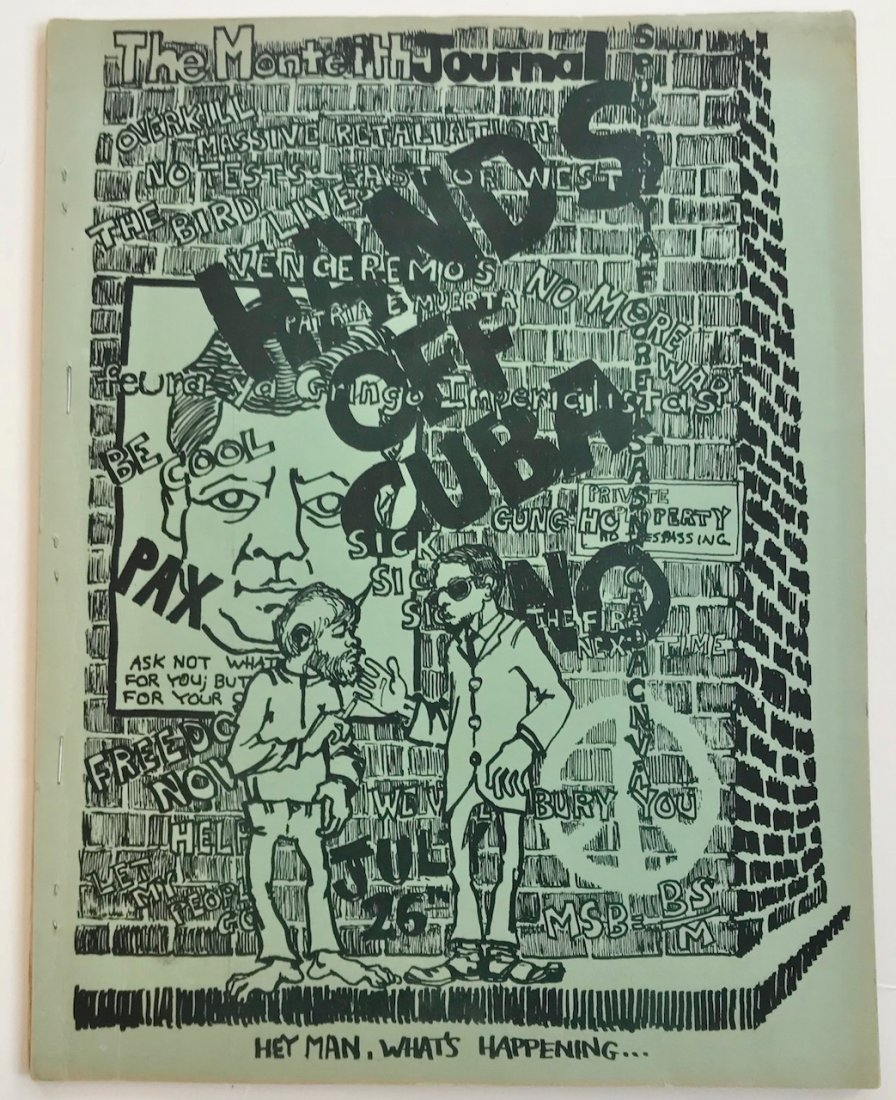 Detroit Avant-Garde Monteith Journal 1963