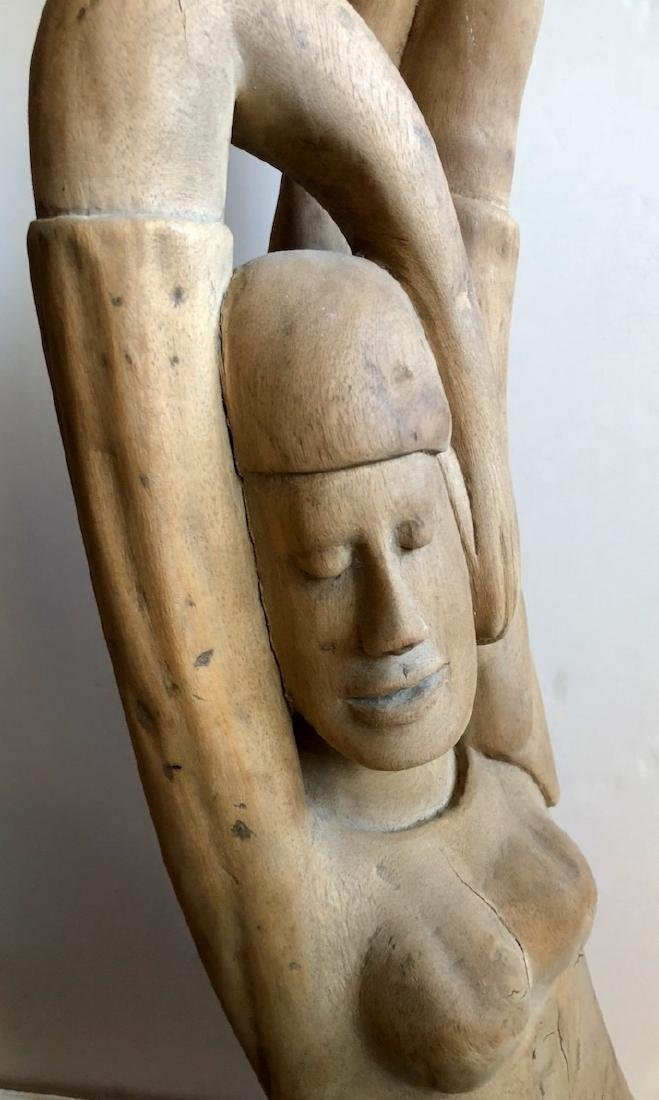 Mid-Century Haitian Carved Sculptures, 1960's - 3