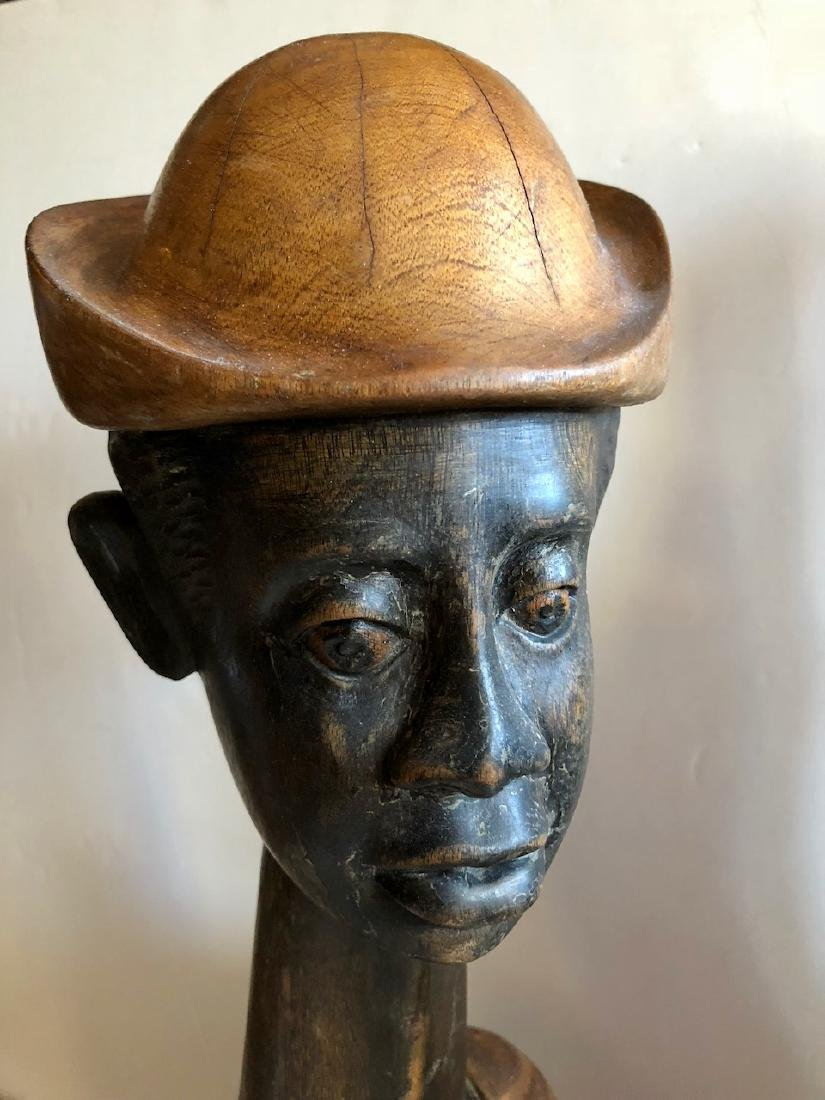 Mid-Century Haitian Carved Sculptures, 1960's - 4