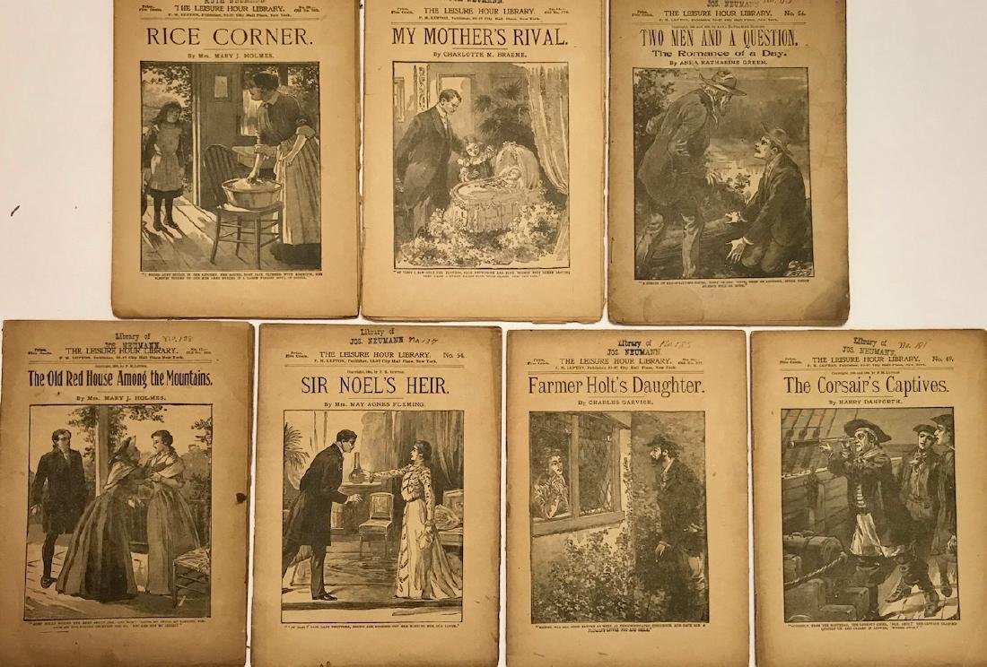 Seven Leisure Hour Library Books, 1895-1904
