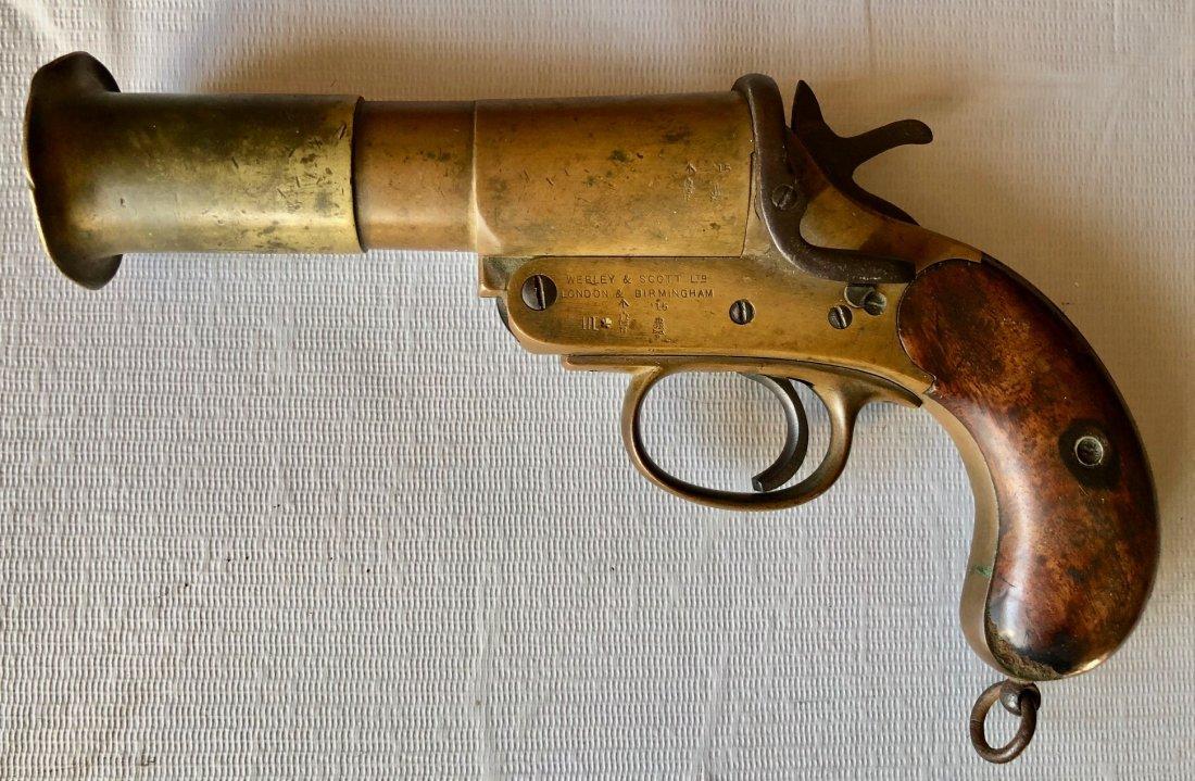 Webley And Scott WWI Navy Flare Gun