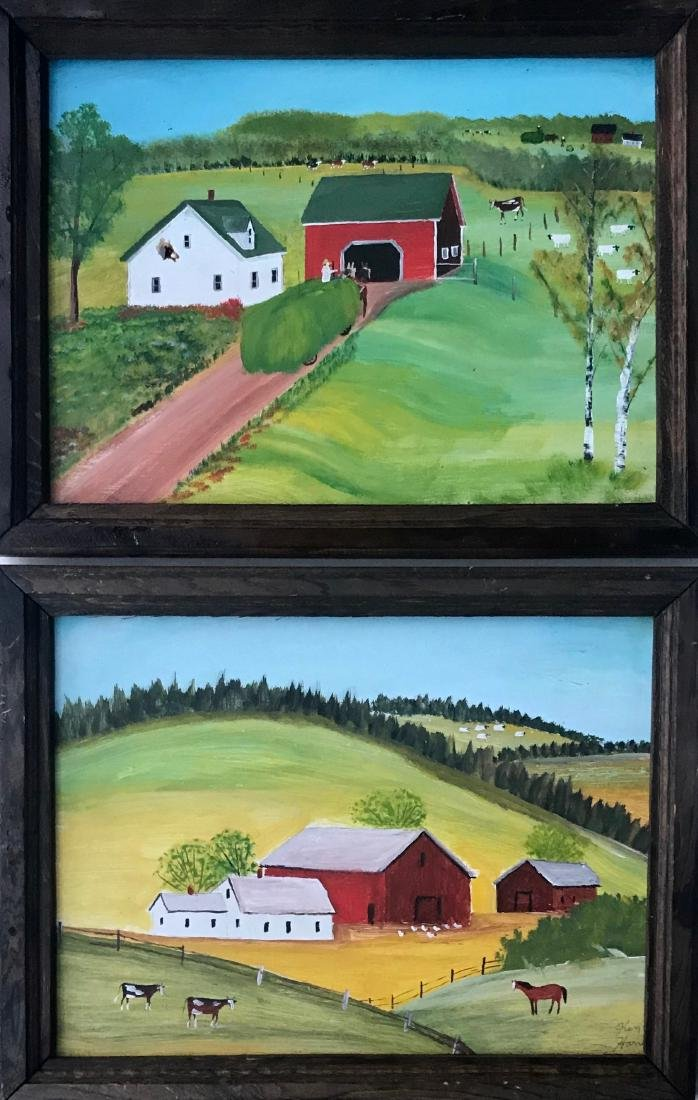 New England Folk Art Paintings, Ken Harris (2)