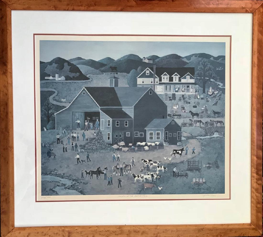 American Folk Art, Roberts Farm Auction, Martha Leone