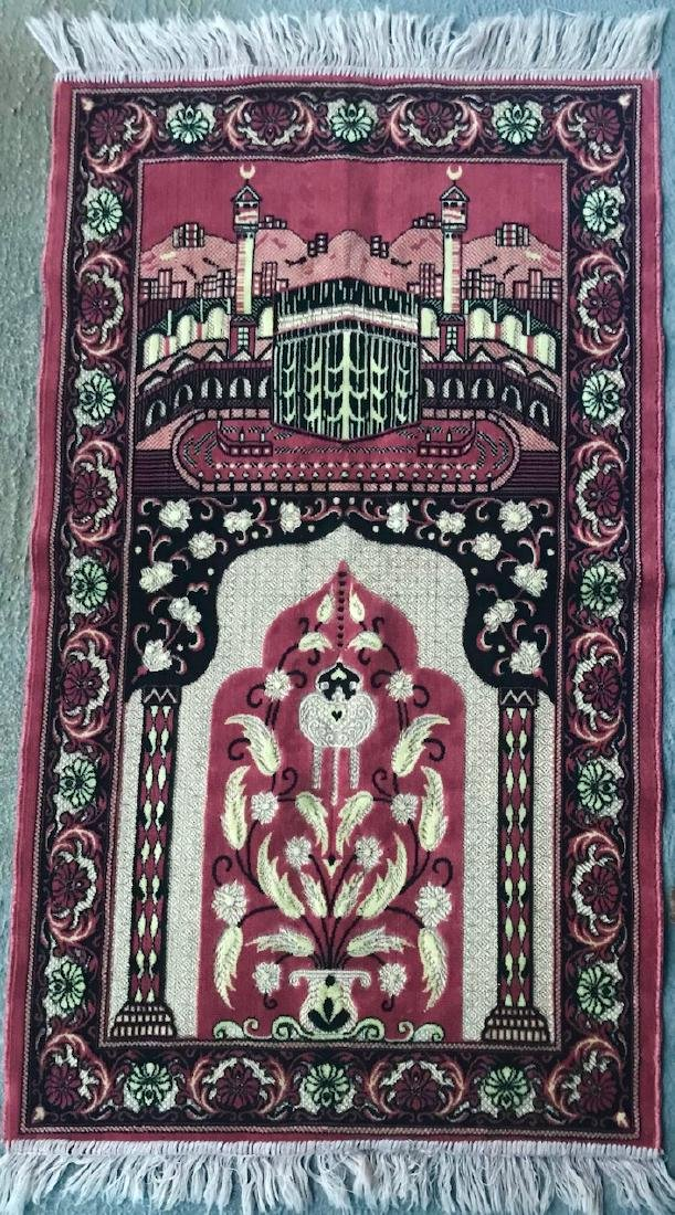 Turkish Prayer Rug or Wall Hanging