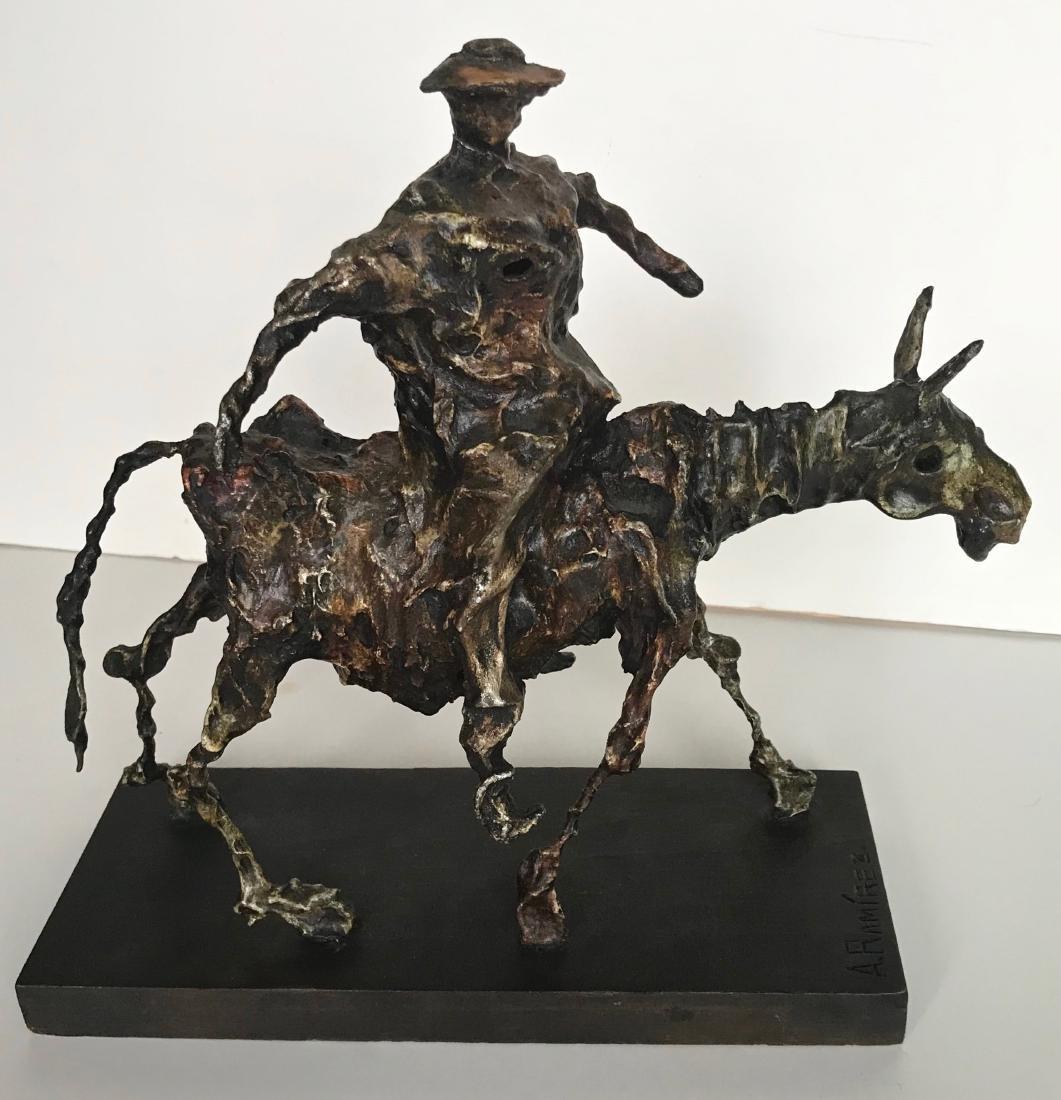 Mexican Modern Sculpture, A. Ramirez