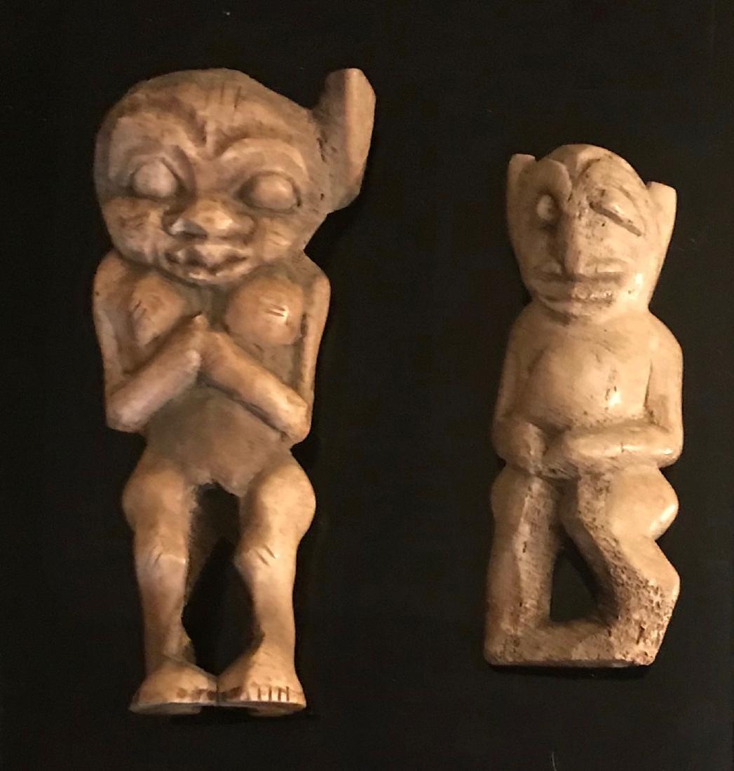 African Lega Tribe Ancestral Bone Carvings (2)