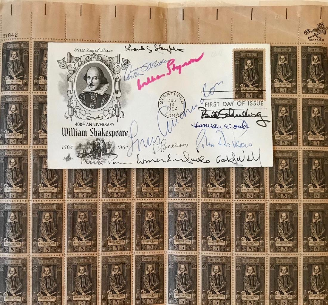 Autographs: Arthur Miller, Saul Bellow, Herman Wouk etc