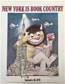 New York Is Book Country Signed By Maurice Sendak 1979