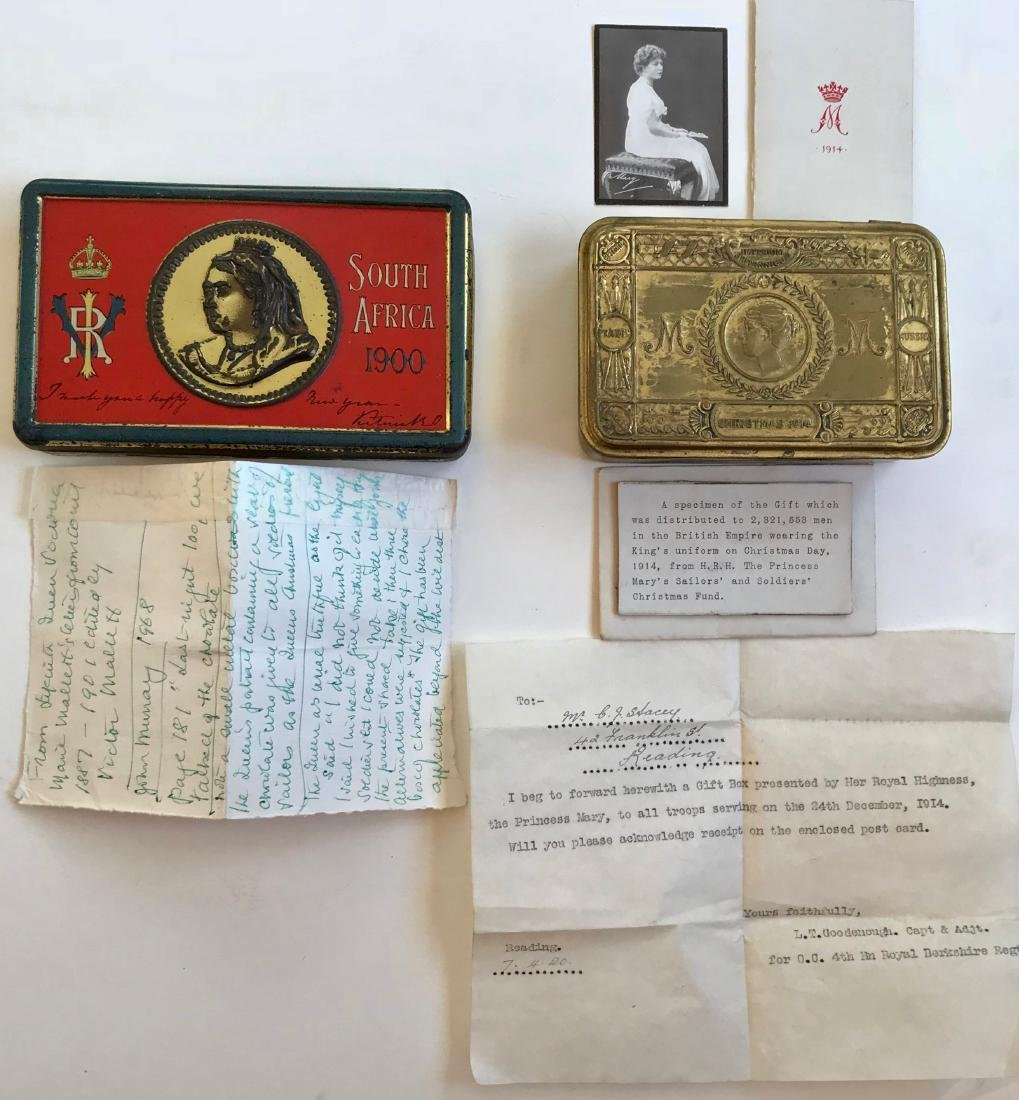 Queen Victoria & Princess Mary Christmas Gift Boxes (2)