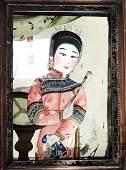 Chinese Reverse Painting, 19th Century