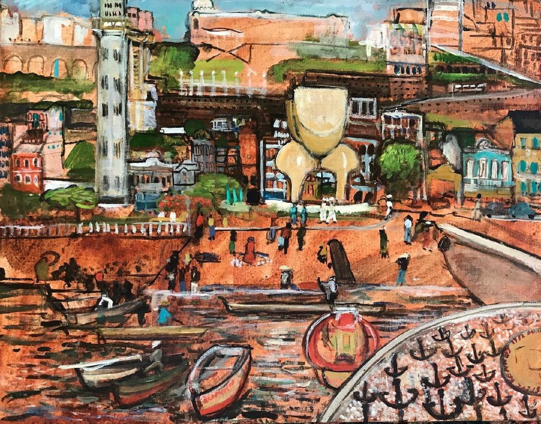 Urban Brazilian Painting Porto Alegre, Steve Kennedy