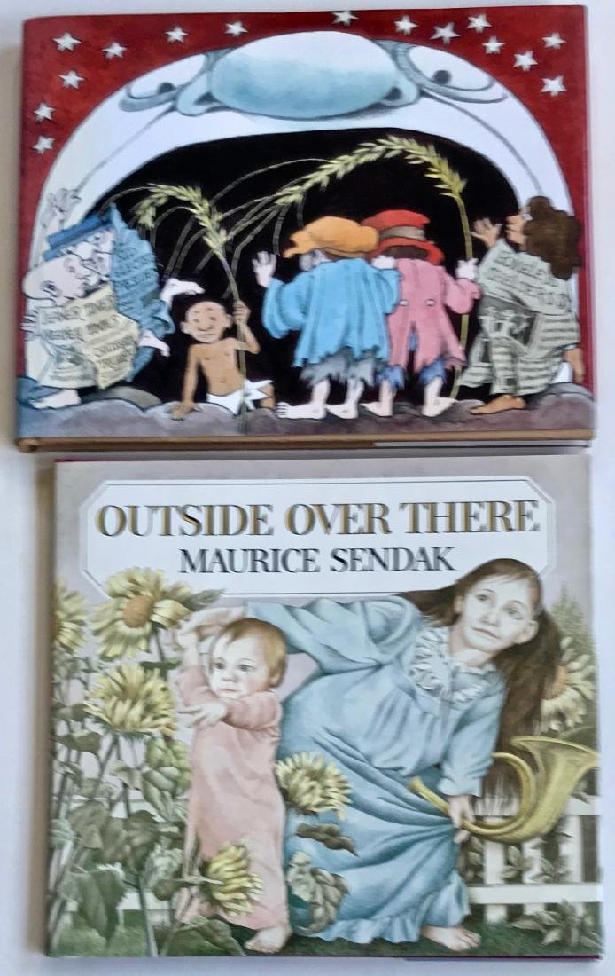 Maurice Sendak Signed First Edition Books (2)