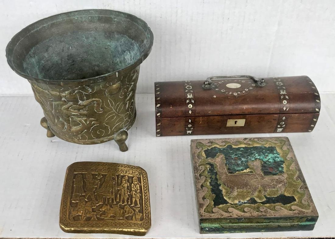 Antique Objects: Chinese, Peruvian, Indian & Egyptian