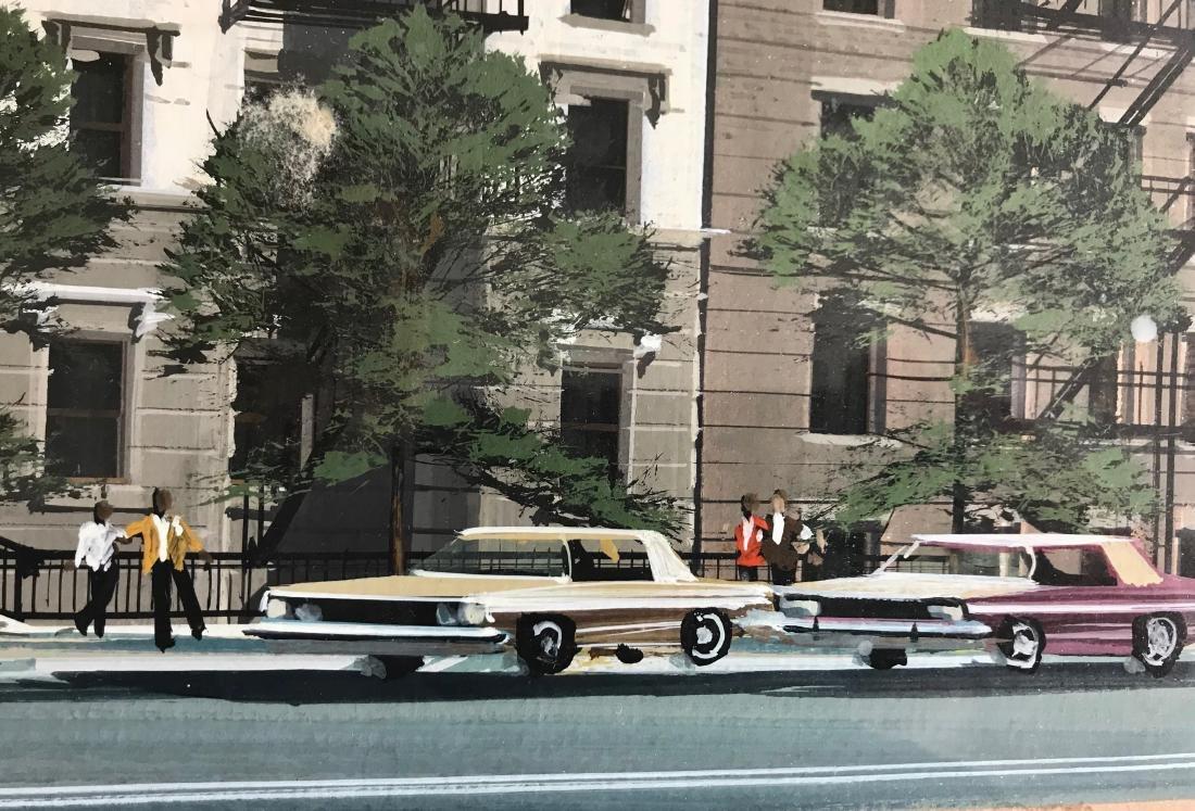 N.Y.C. Urban Harlem Street Painting, J. G. Sommers - 4