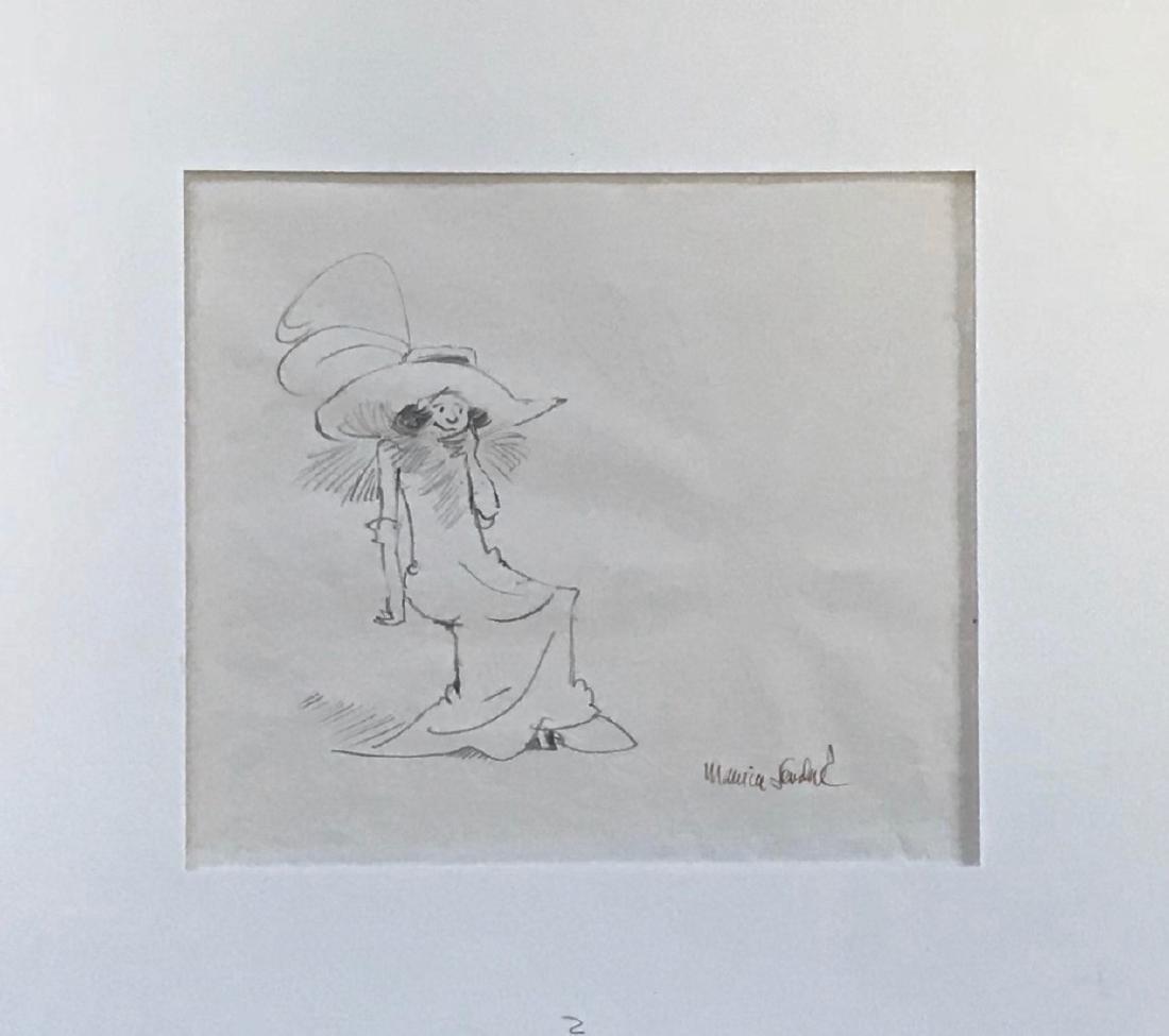 Maurice Sendak Original Drawing REALLY ROSIE 1974