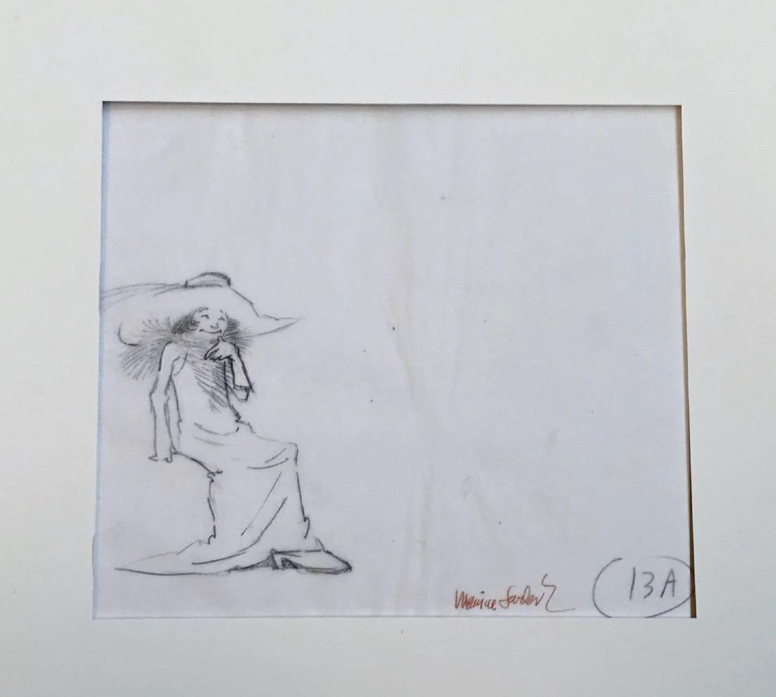 Maurice Sendak Original Production Drawing ROSIE 1974
