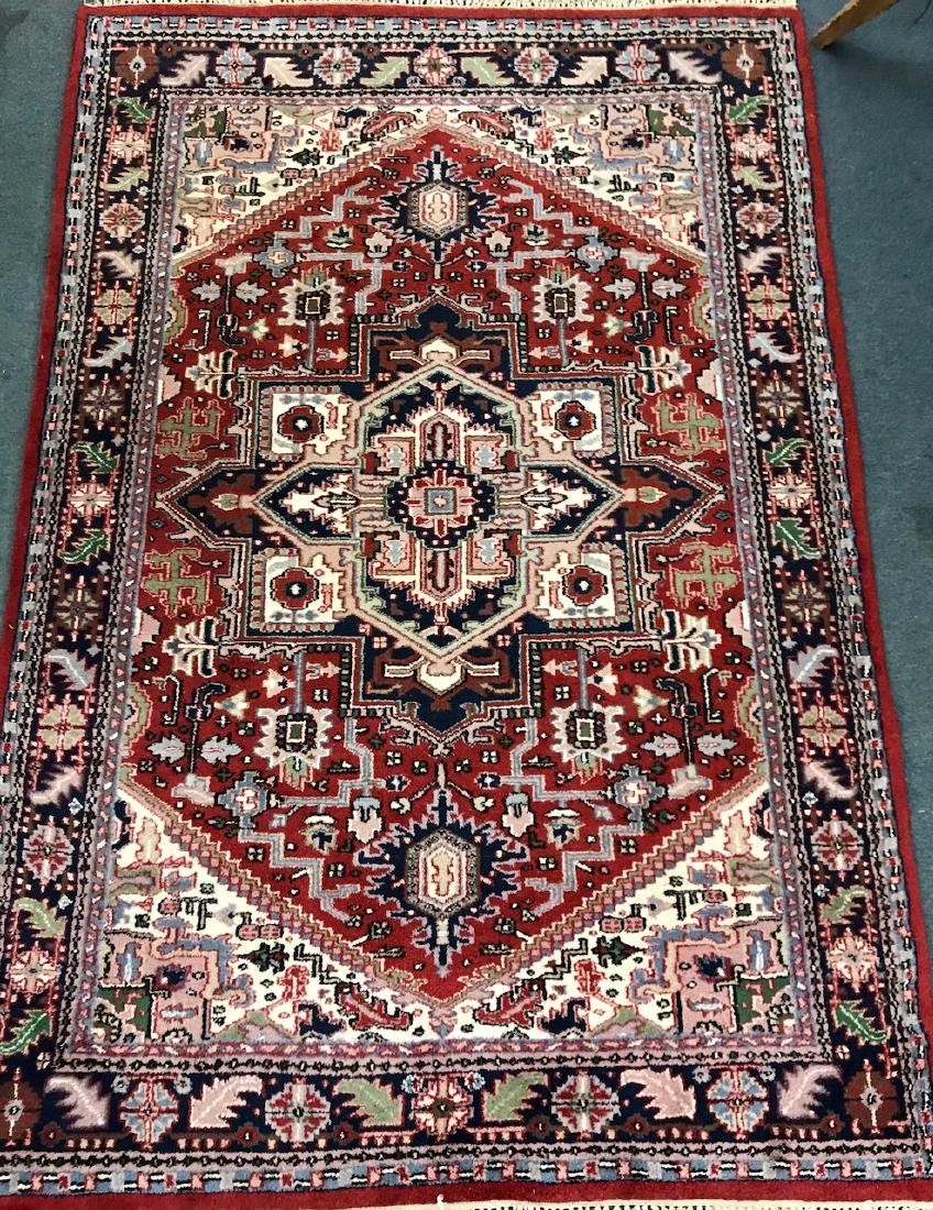 "Hand Woven Wool Persian Rug  5'10"" x 8'10"""