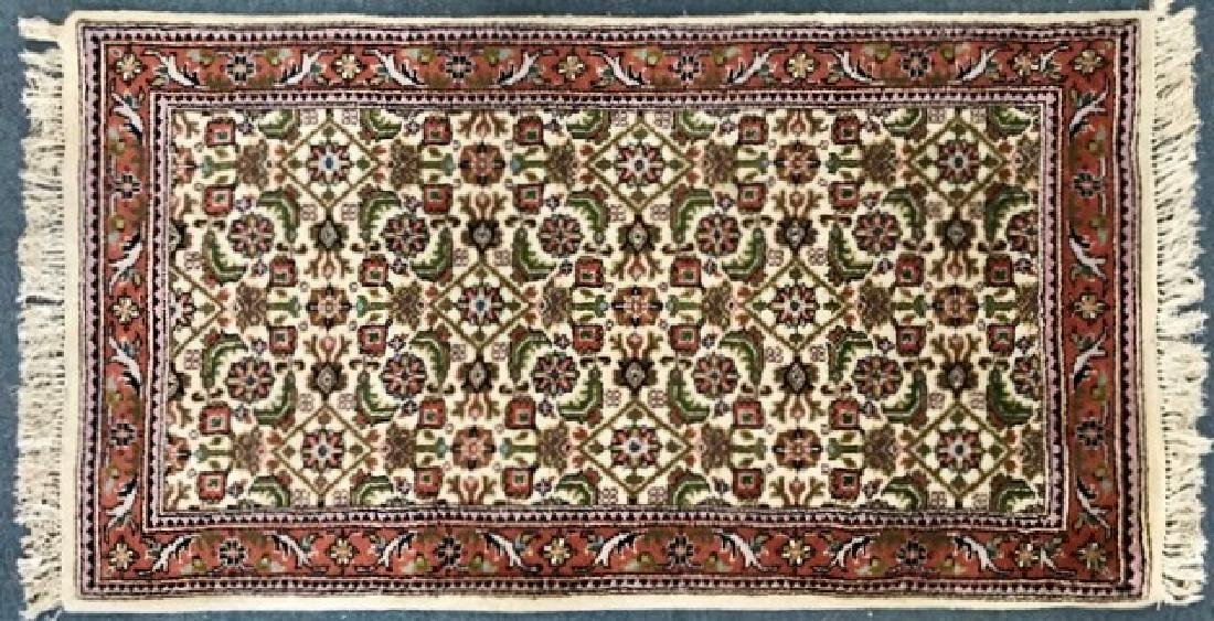 """Hand Knotted Persian Wool Rug: 5'8"""" x 34"""""""