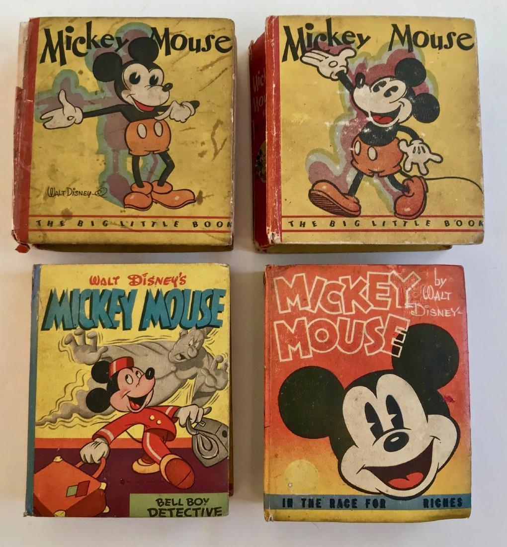 Walt Disney Mickey Mouse Big Little Books 1930's