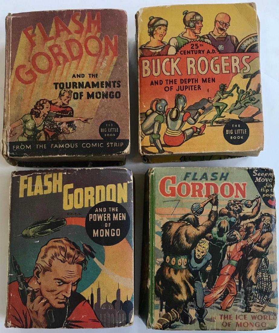 Flash Gordon & Buck Rogers Big Little Books, 1930's
