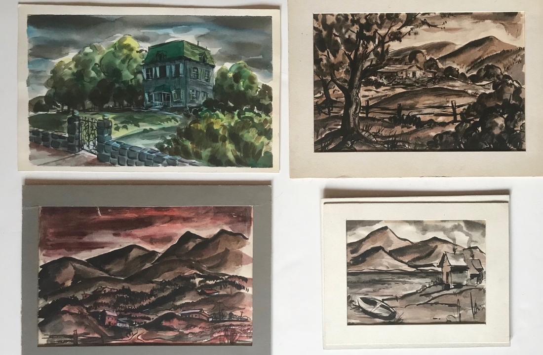 American Landscape Watercolors, Lu Guarnier