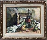 Mid-Century Still life Oil Painting, C. Erory