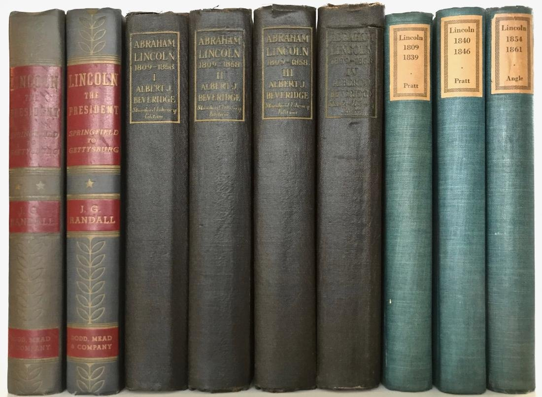 Collection of Antiquarian Books: Abraham Lincoln