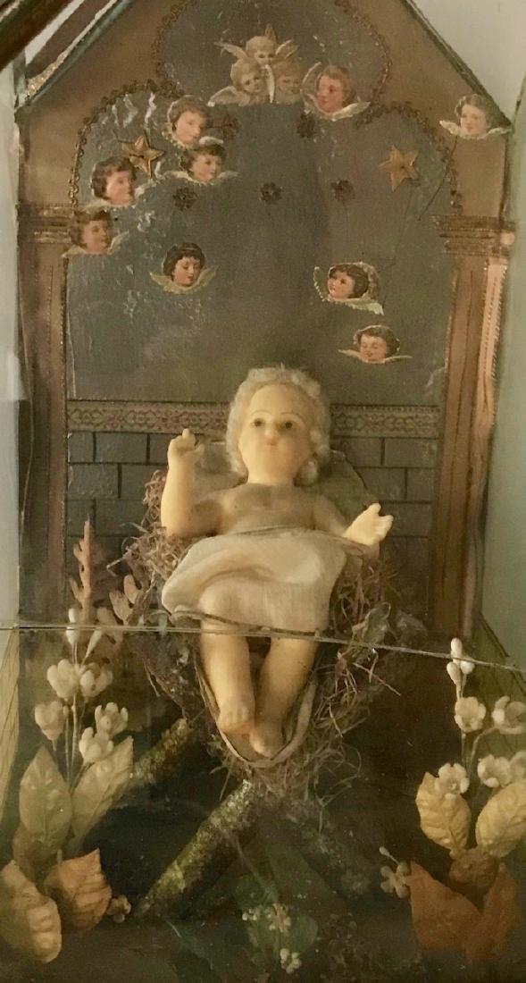 Two Victorian Religious Dioramas - 7