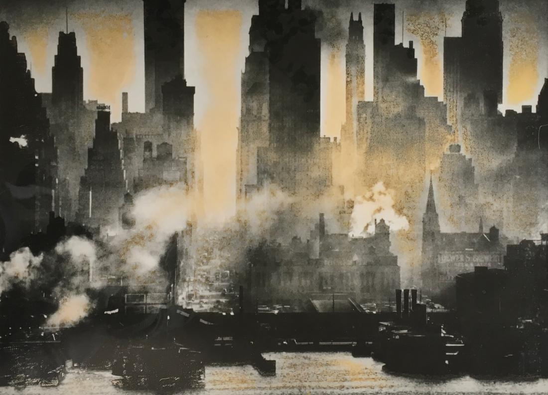 Silver Gelatin Print N.Y.C. Lower Manhattan - 2