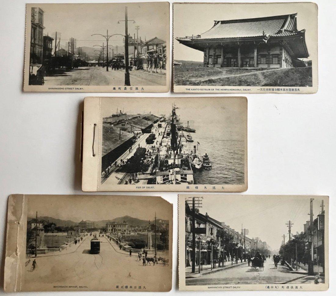 Late Meiji-Taisho Era Postcards Views of Dalny 1900s