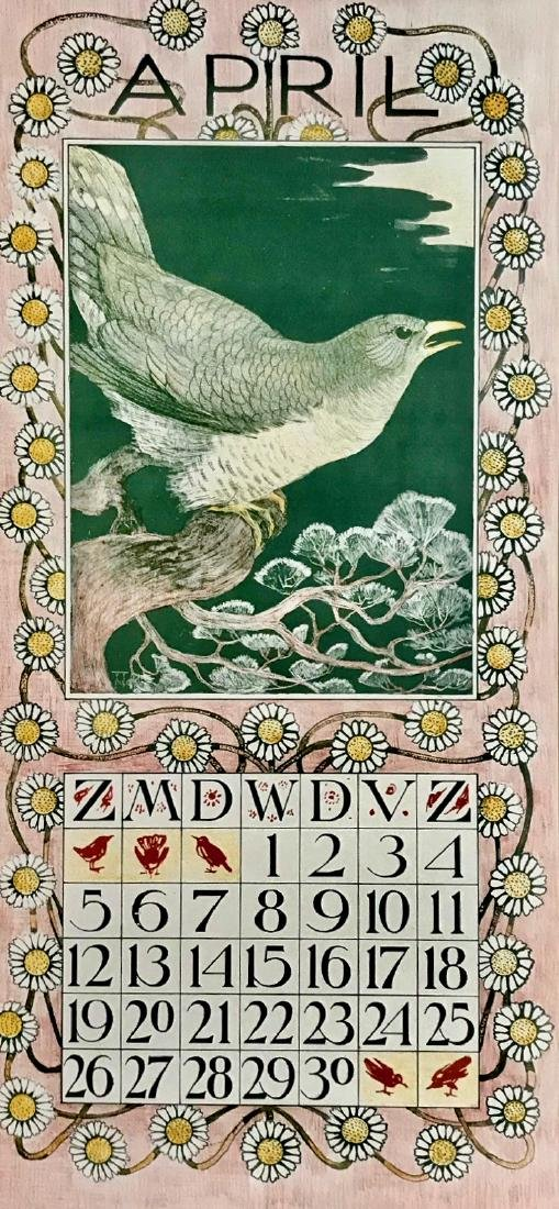 Hoytema Theo Van Complete1903 Dutch Calendar (12) - 2