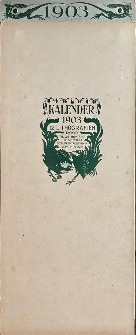 Hoytema Theo Van Complete1903 Dutch Calendar (12) - 3
