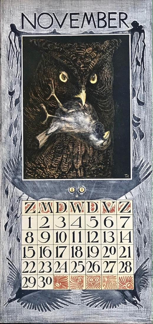 Hoytema Theo Van Complete1903 Dutch Calendar (12) - 4