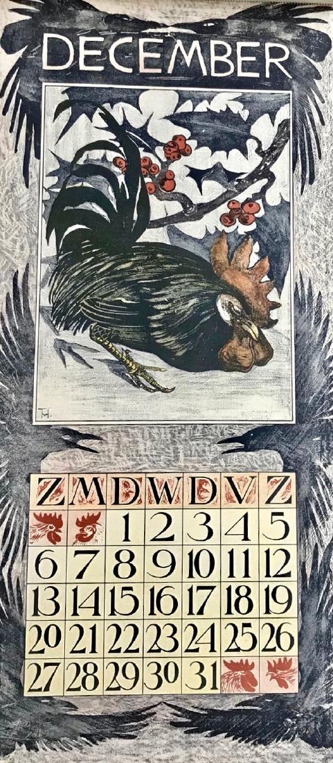 Hoytema Theo Van Complete1903 Dutch Calendar (12) - 5