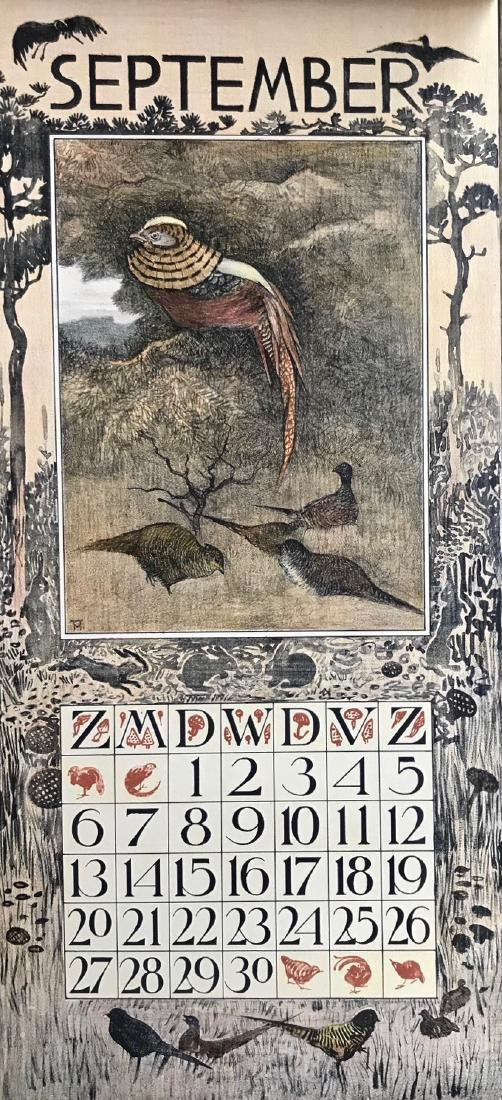 Hoytema Theo Van Complete1903 Dutch Calendar (12) - 6