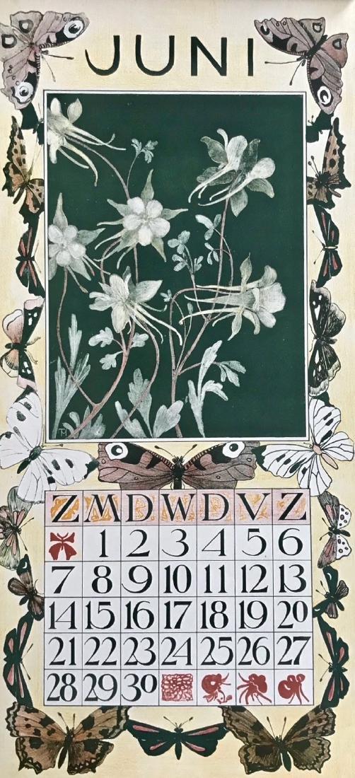 Hoytema Theo Van Complete1903 Dutch Calendar (12) - 7