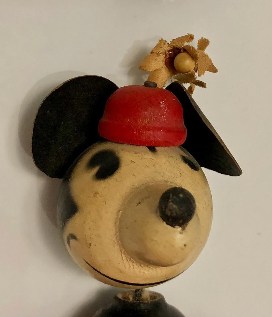 Disney 1930s Minnie Mouse Fun-E-Flex Wood Figure - 4