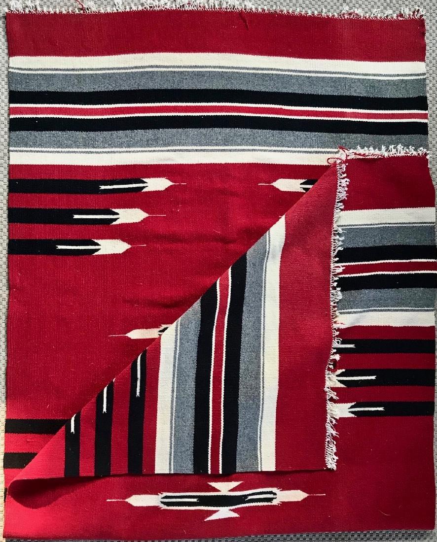 Navajo Indian Woven Rug Circa 1930s - 3