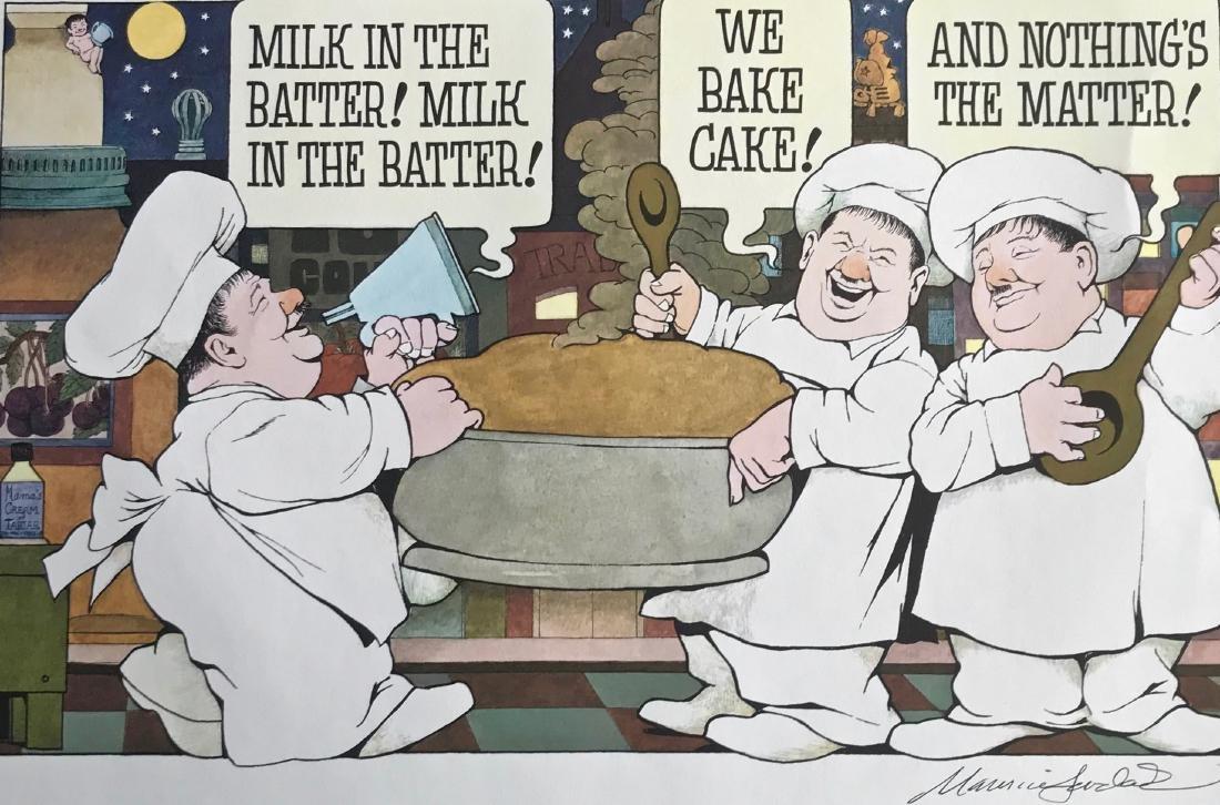 Night Kitchen Milk In The Batter Hand-Signed M. Sendak - 3
