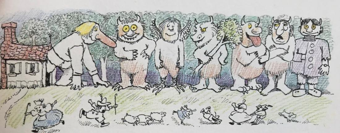 Seven Little Monsters Hand-Signed Maurice Sendak 1977 - 4