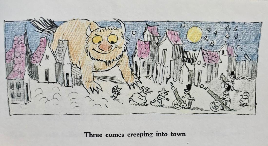 Seven Little Monsters Hand-Signed Maurice Sendak 1977 - 5