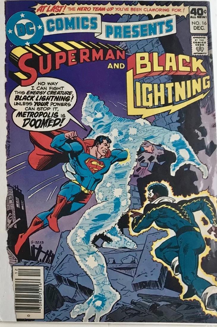 Original Superman D.C. Comics Storyboard Joe Staton #16 - 3