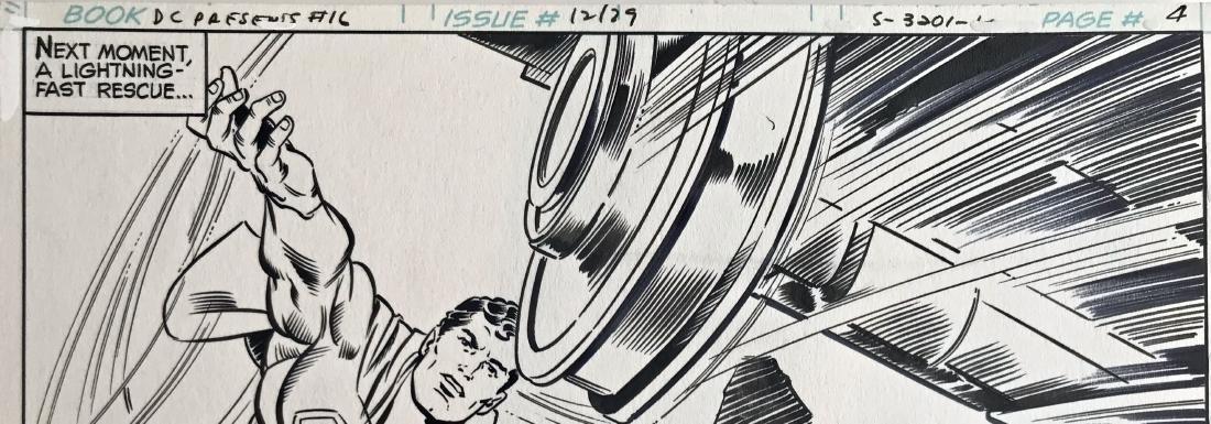 Original Superman D.C. Comics Storyboard Joe Staton #16 - 5