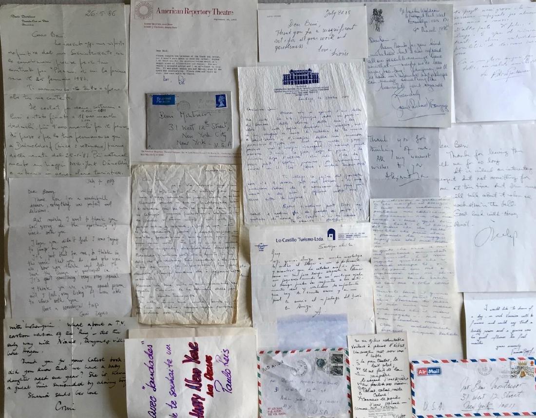 Handwritten Letters to Beni Montresor, Artist & Writers