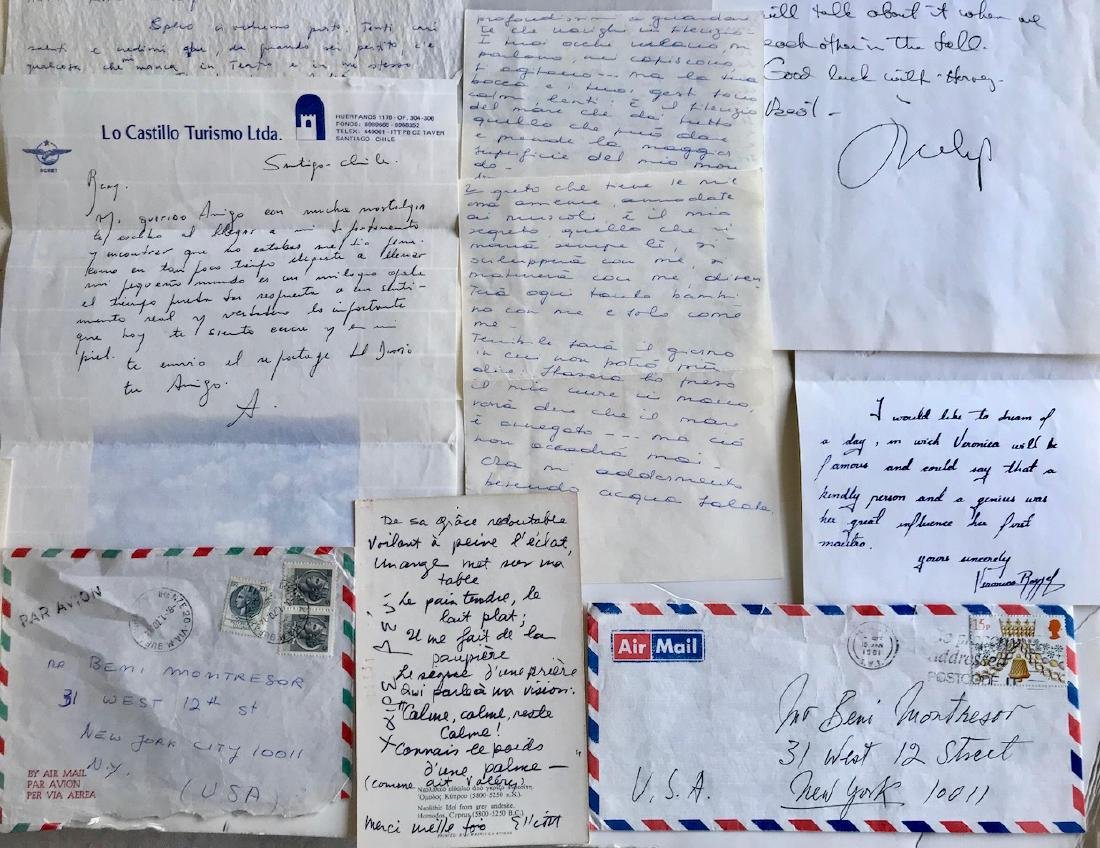 Handwritten Letters to Beni Montresor, Artist & Writers - 3