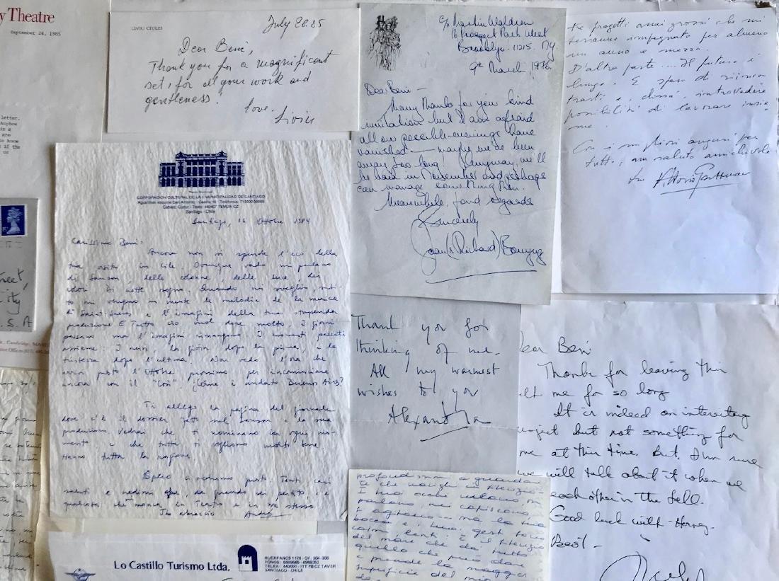 Handwritten Letters to Beni Montresor, Artist & Writers - 4