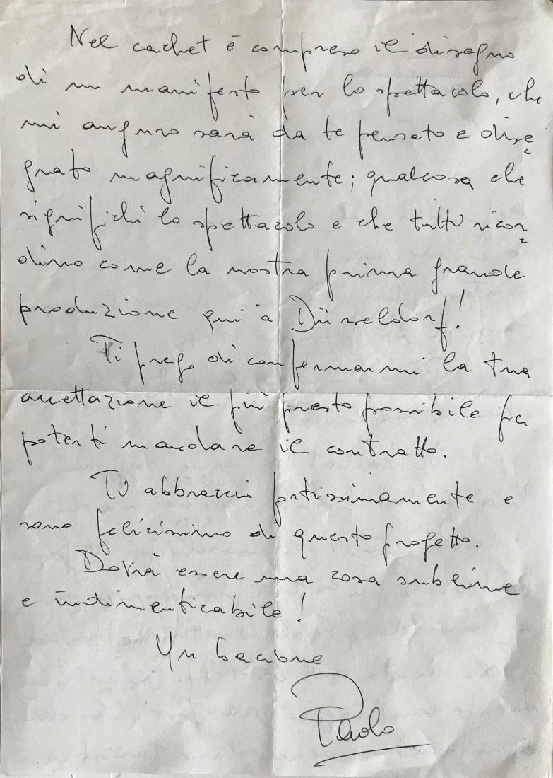 Handwritten Letters to Beni Montresor, Artist & Writers - 5