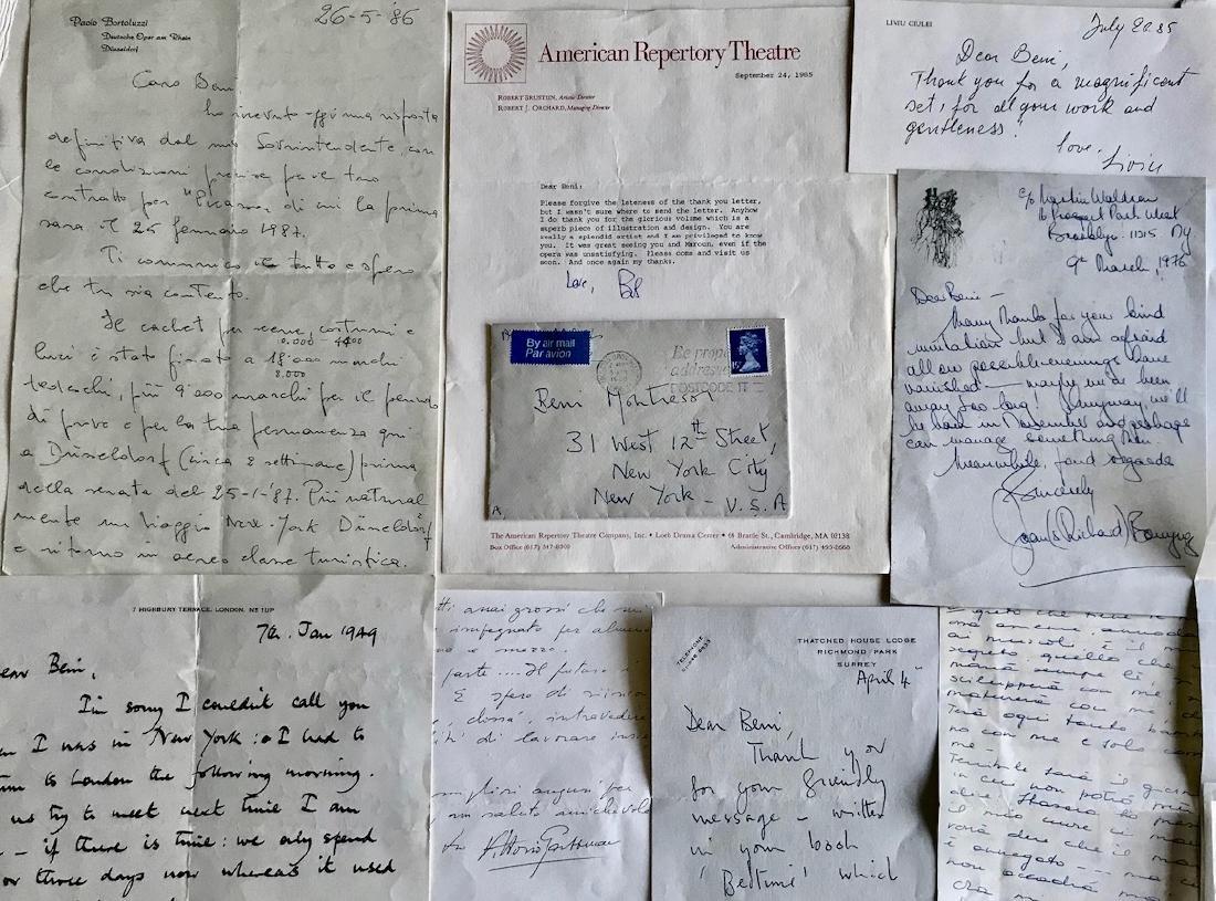 Handwritten Letters to Beni Montresor, Artist & Writers - 7