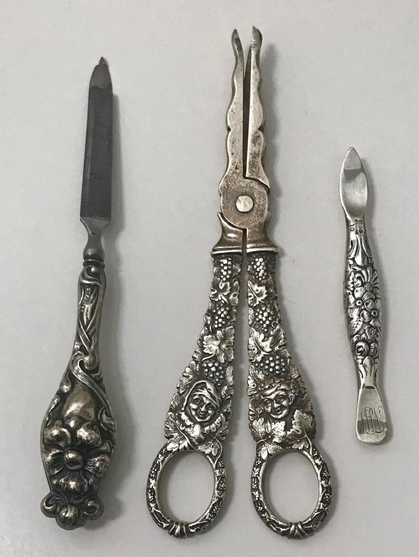 Antique Sterling Silver Vanity Items